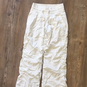Lululemon White studio pant
